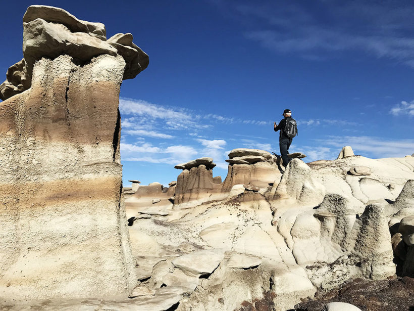 Bisti/De-Na-Zin Wilderness in New Mexico