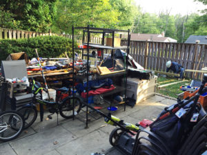Building a shed to hoard more stuff!