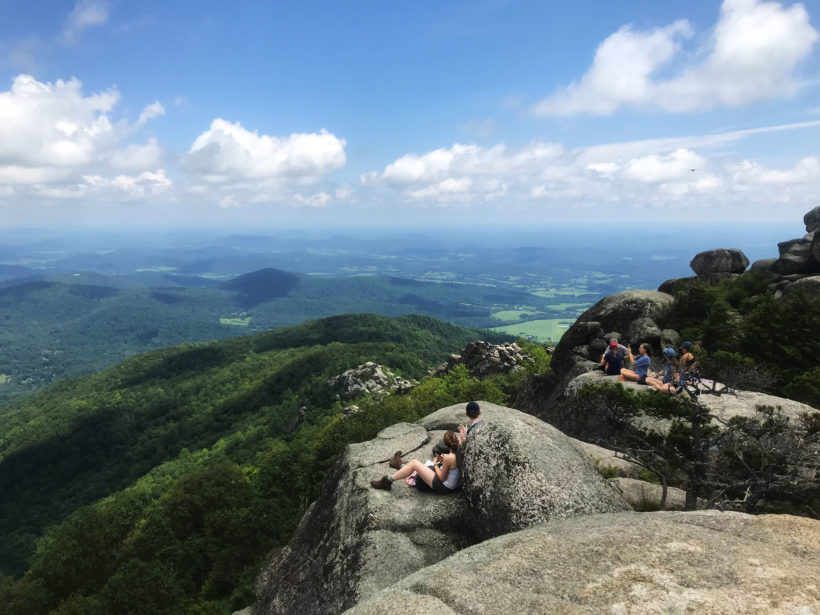 A 360° view from the top of Old Rag Mountain in Shenandoah National Park.