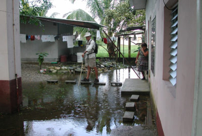 Hotel in Omoa, Honduras 2008
