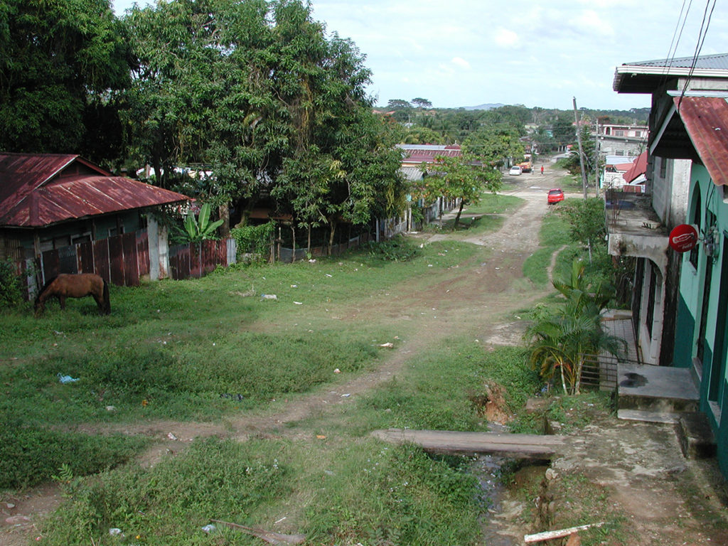The streets of Tela, Honduras 2008